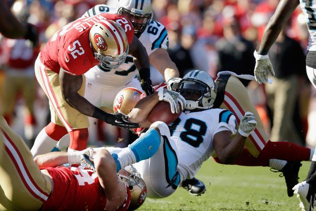 49ers Beat Up in 10-9 Loss to Panthers