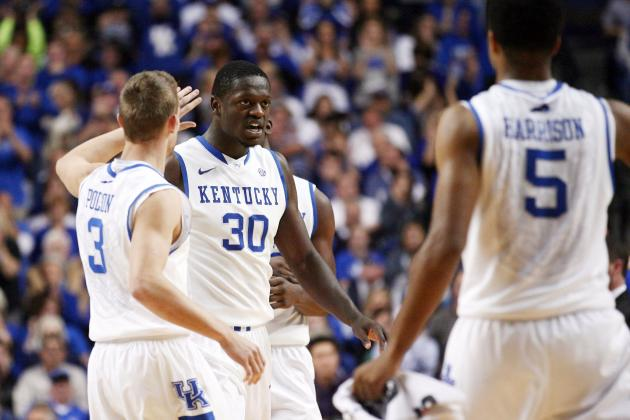 Julius Randle and the Harrison Twins Have Kentucky Already Ahead of Schedule