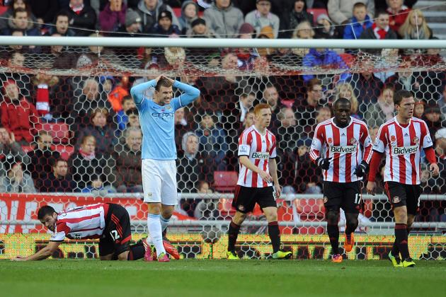 Sunderland Loss Another Freak Result for Manchester City at the Stadium of Light