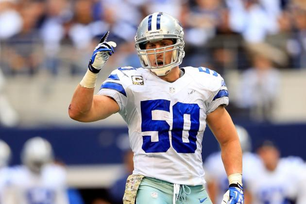 Sean Lee out for the Night with Hamstring Injury