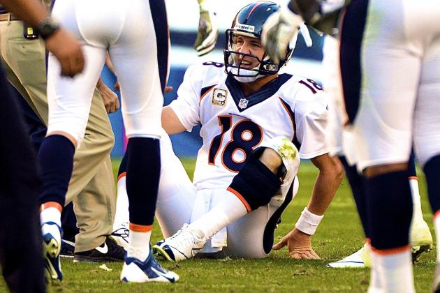 Broncos Set Up Showdown with Chiefs, but Can They Keep Peyton Manning Upright?