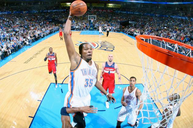 Kevin Durant's Heroics Propel Oklahoma City Thunder to OT Win