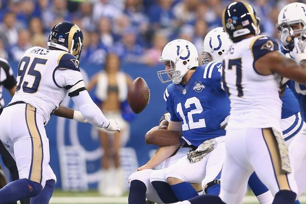 Uncharacteristic Turnovers Plague Colts