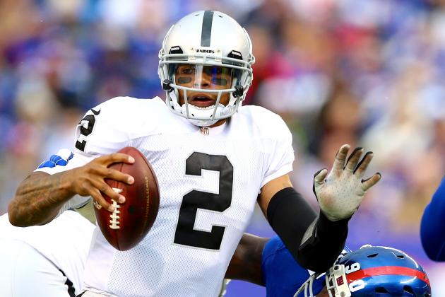 Terrelle Pryor Proving He's Not the Raiders' Long-Term QB