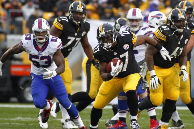 Steelers Handle Bills to Start Season's Second Half on Positive Note