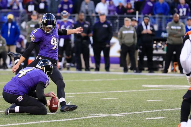 Justin Tucker Converts Fifth Game-Winning Field Goal in His Young Career
