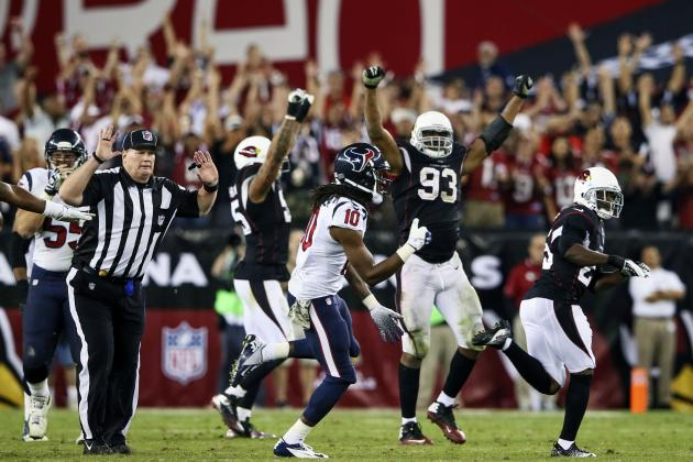 Cardinals Improve to 5-4 with Win over Texans