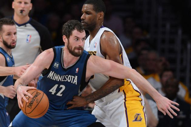 Kevin Love Looks Really Good in Los Angeles
