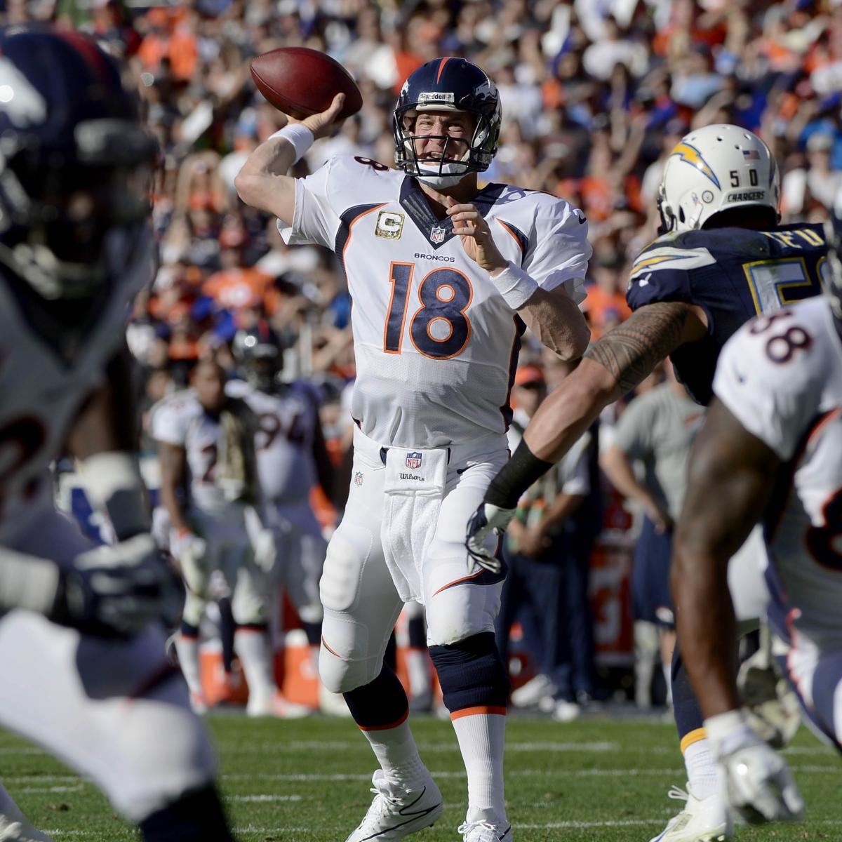 The Latest Denver Broncos News Bleacher Report: 5 Critical Takeaways From The Denver Broncos' Week 10 Win