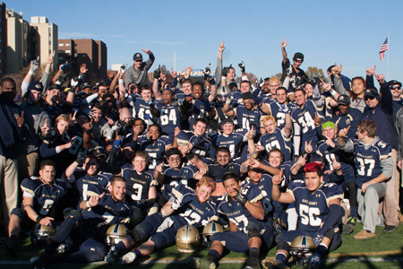 Division III Football: Gallaudet Wins ECFC Title, Clinches First Playoff Bid