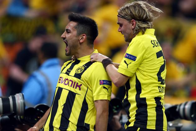 Dortmund: Scouting Report on Real Madrid and Arsenal Target Ilkay Gundogan