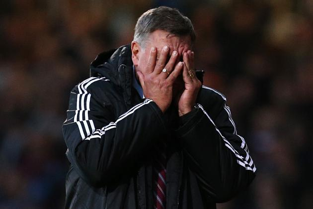 Allardyce Fumes After Letting Norwich off Hook