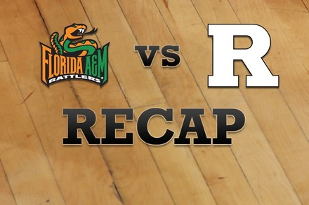 Florida A&M  vs. Rutgers: Recap, Stats, and Box Score