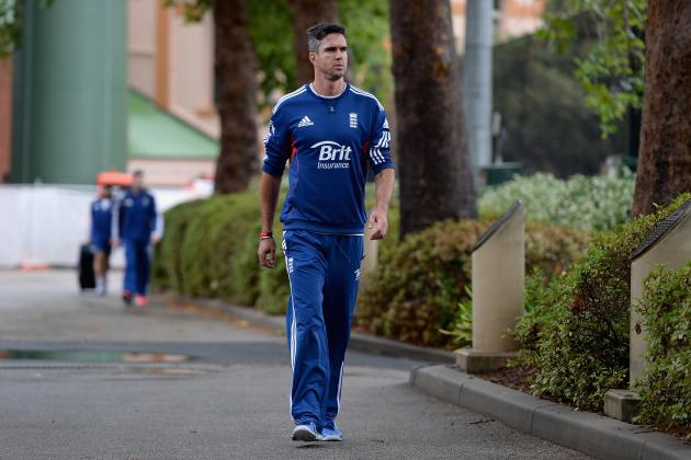 Kevin Pietersen Gives Injury Update as England Suffer Matt Prior Ashes Setback