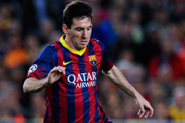 Leg Injury to Keep Messi out 6-8 Weeks