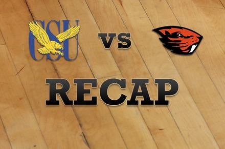 Coppin State vs. Oregon State: Recap, Stats, and Box Score