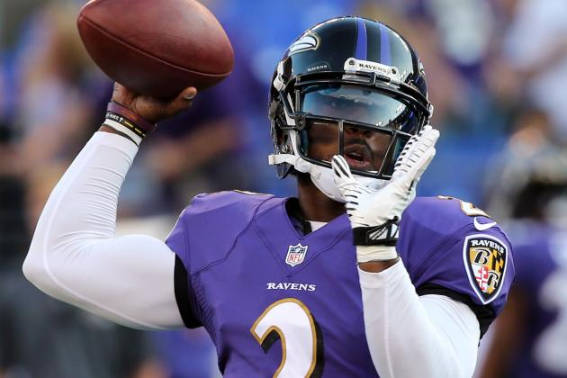 Ravens Backup Quarterback Tyrod Taylor Got Involved on End-Around