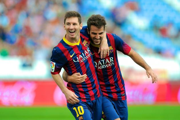 Why Cesc Fabregas, Not Alexis Sanchez, Should Replace Lionel Messi Up Front