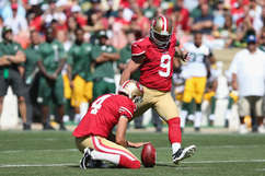 Phil Dawson: Recapping Dawson's Week 10 Fantasy Performance