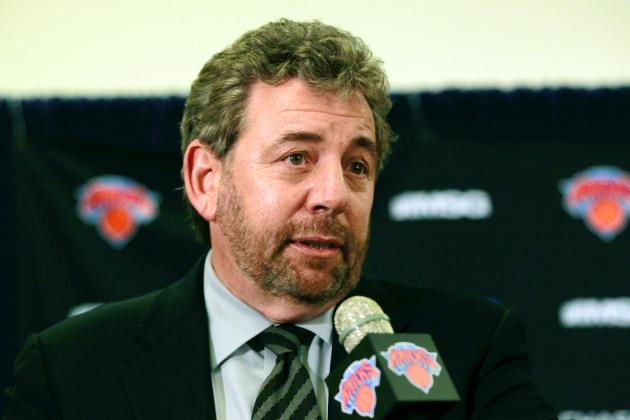 James Dolan Guarantees New York Knicks Victory vs. Atlanta Hawks