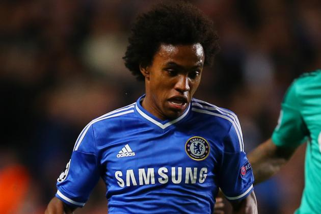 Willian Delighted with Brazil Recall