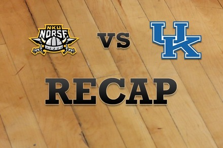 Northern Kentucky vs. Kentucky: Recap, Stats, and Box Score
