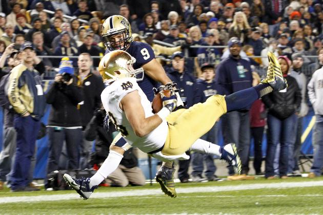 Irish Tight End 'Emerging, Maturing'