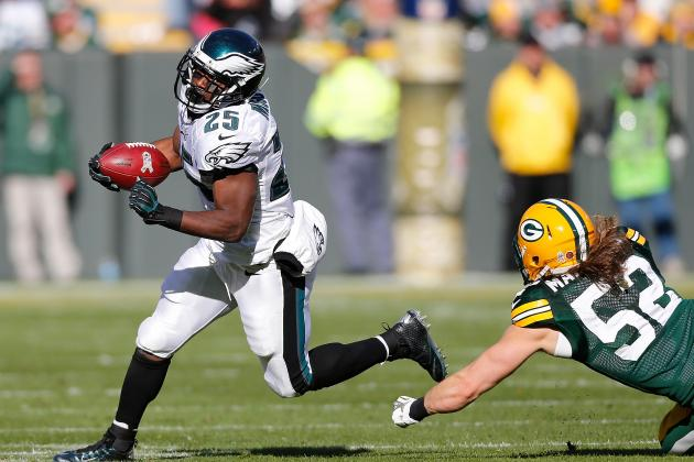 2013 Fantasy Football Running Back Rankings: NFL Week 11