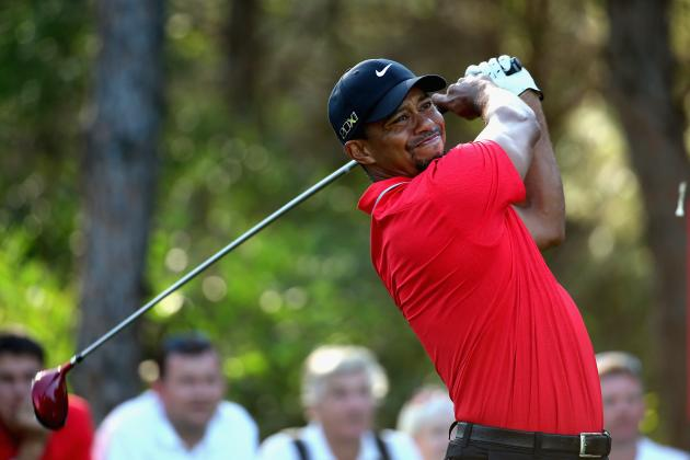 Video: Tiger Woods Hits Tree with Follow Through in Turkey