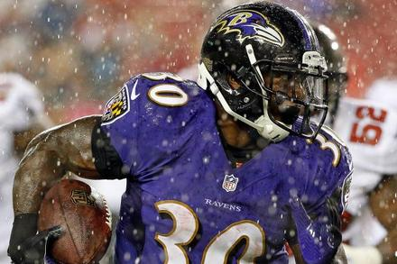 Bernard Pierce: Recapping Pierce's Week 10 Fantasy Performance