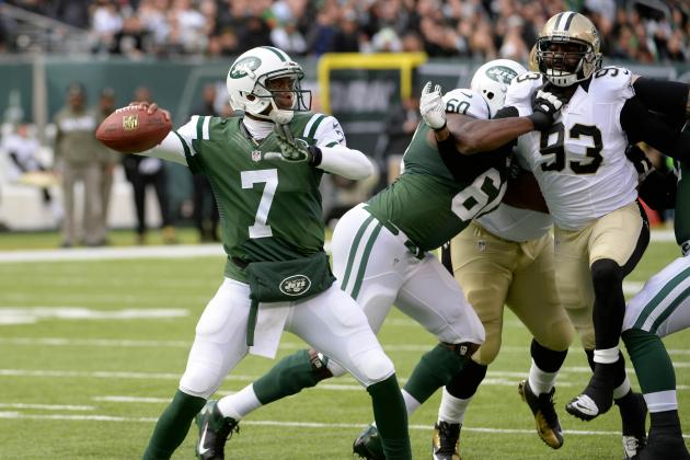 Oliver: Jets' Line Carrying Geno Smith