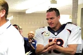 Ultimate Manning Face: Peyton Manning Really Wanted the Game Ball on Sunday