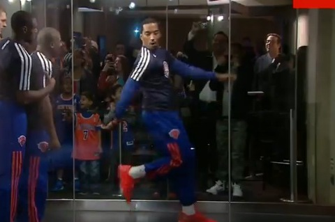 J.R. Smith Shows off Dance Moves in Return from Suspension