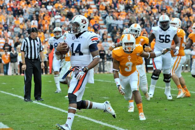 Auburn, Alabama Star Players Headline Week 11's SEC Players of the Week