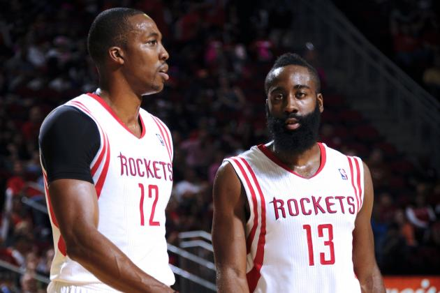 Houston Rockets' Problems Start with James Harden and Dwight Howard