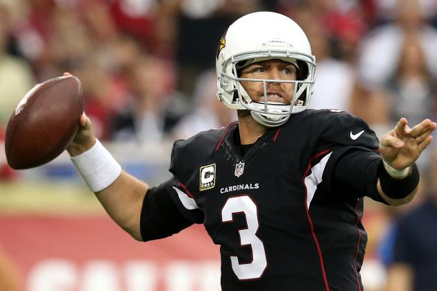 Job Saved? Carson Palmer Playing Better for Arizona Cardinals