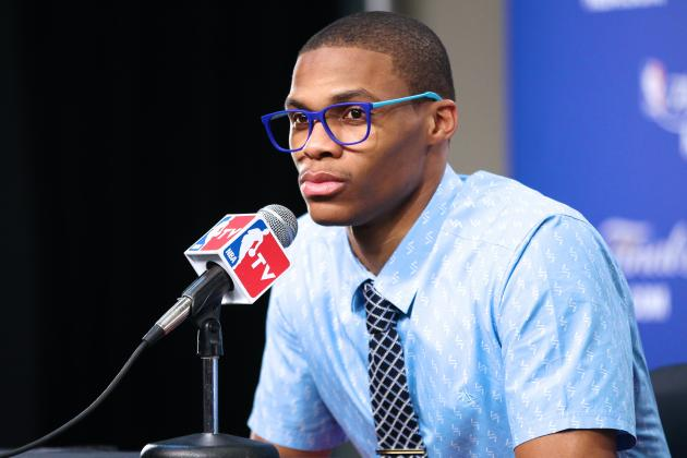 Russell Westbrook Blows off OKC Thunder Reporter After Ejection vs. Wizards
