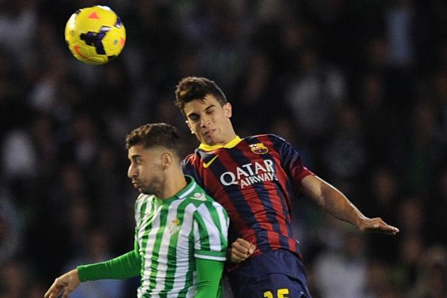 Bartra Called Up to Replace Fabregas