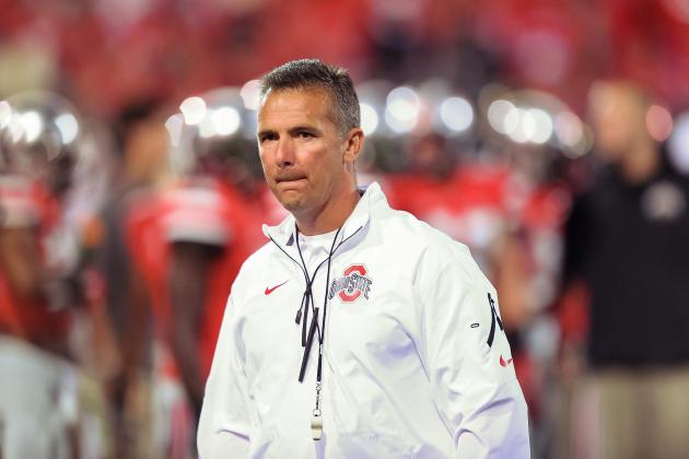 Urban Meyer Admits to Voting Ohio State No. 2 Behind Alabama in Coaches Poll