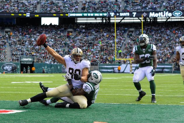 2013 Fantasy Football Tight End Rankings: NFL Week 11