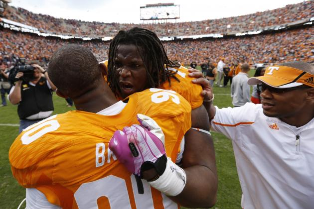 Tennessee Football: Vols' 2014 Offense Hinges on Tiny Richardson's NFL Decision