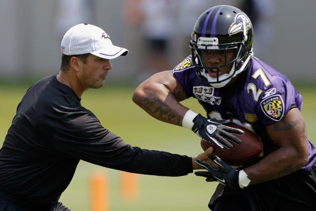 Ray Rice's Health 'No Doubt' a Factor in Struggles, Says Harbaugh