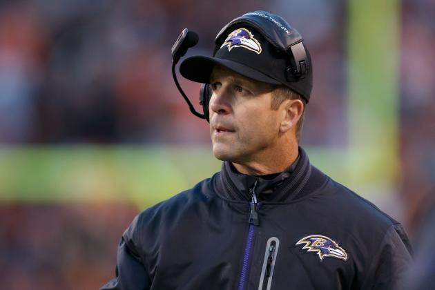 John Harbaugh Presented with Amos Alonzo Stagg Coaching Award