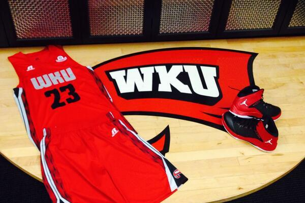 Photo: WKU Breaks out New Uniforms vs. Wichita State