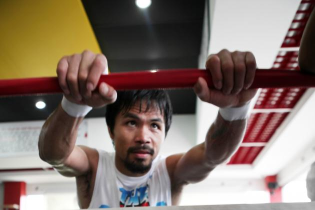 Manny Pacquiao Won't Earn Bout vs. Floyd Mayweather with Win over Brandon Rios
