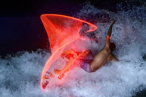 Red Bull Surfing Lights Project