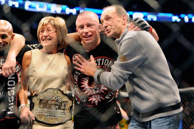 UFC 167: GSP Set to Break Multiple Records with Win over Johny Hendricks