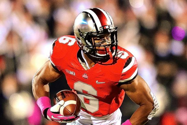 Ohio State WR Evan Spencer Thinks Buckeyes Would 'Wipe the Floor' with Bama, FSU