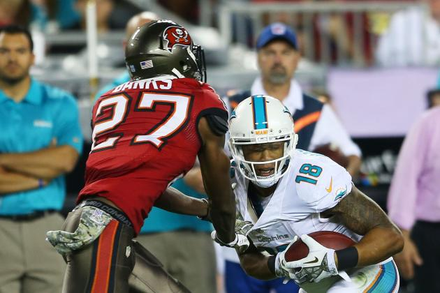 Miami Dolphins vs. Tampa Bay Buccaneers: Live Grades and Analysis for Miami