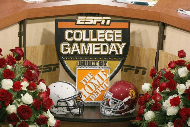 ESPN College GameDay Coming to USC, but Recently That's Been Bad for Trojans